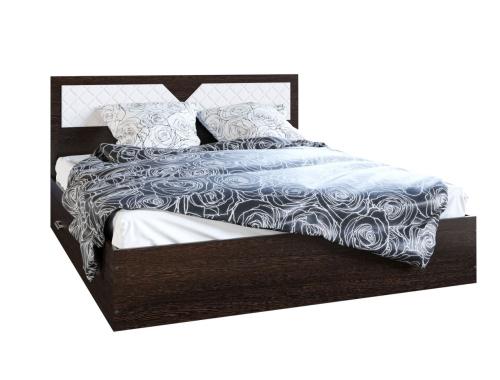 Кровать Николь с ящиками венге