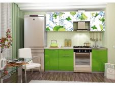 Кухня София лайм  2.1 метра