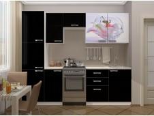 Кухня Лилия с пеналом мдф