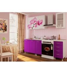 Кухня Орхидея 1.6  мдф