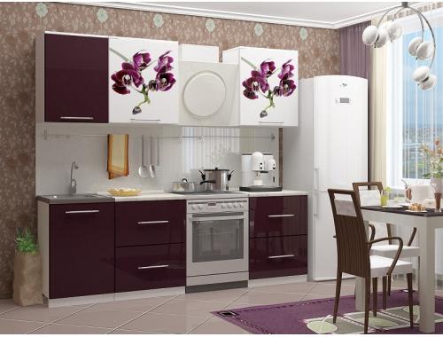 Кухня Орхидея-1 мдф