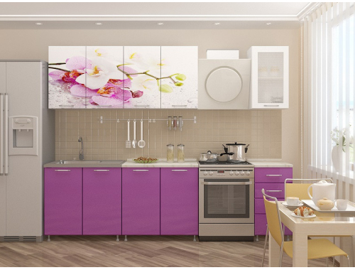 Кухня Орхидея мдф