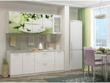 Кухня Зеленый чай мдф