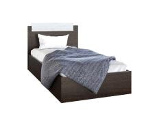 Кровать Эра 0.9 венге с матрасом