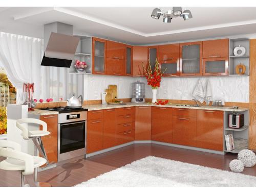Кухня София Олива (оранж)
