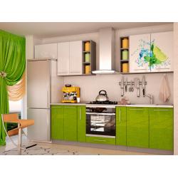 Кухня София Олива (зеленый)