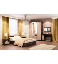 Спальня  Квадро с матрасом